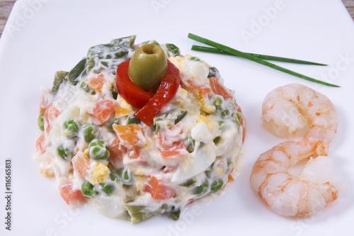 Naklejka russian salad