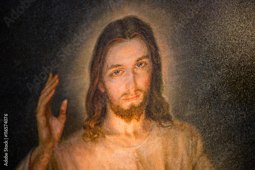 Merciful Jesus Poster