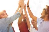 Friends giving high five - 116592698