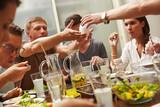 Socialising in dinner time