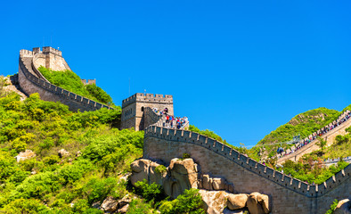 View of the Great Wall at Badaling - China © Leonid Andronov