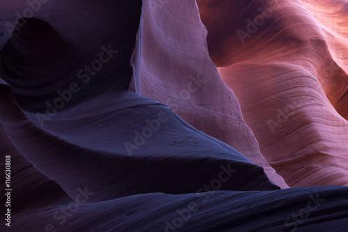 Fotobehang Abstractie Abstraction from Lower Antelope Slot Canyon