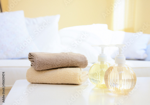 Poster towel spa object