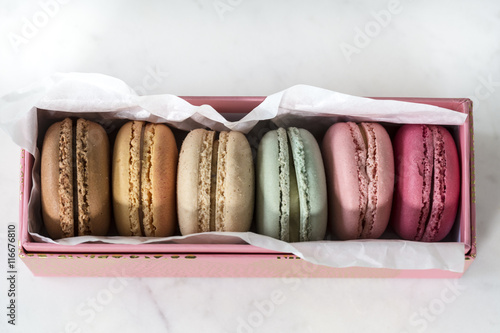 Assorted macarons Poster