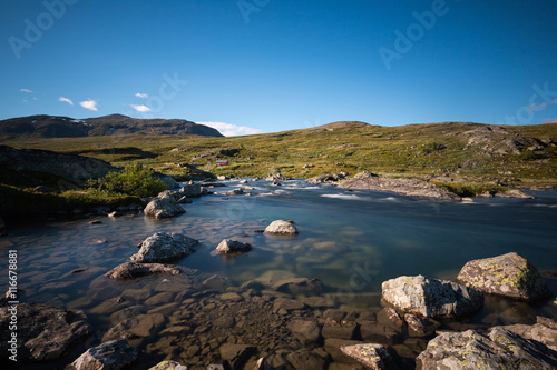 Foto op Canvas Norwegian lake