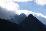Heiligenblut, Großglockner, Kärnten, Mölltal, Österreich, Gipfel, Wolken, Sonne