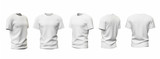 T-shirt template isolated on white - 116690250