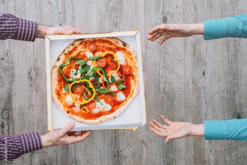 Papiers peints Pizzeria Pizza delivery