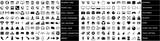 Fototapety Web icons set