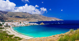 impressive landscapes and beautiful beaches of Greece - Andros island