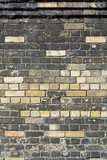 New bricks in wall to replace damaged or decayed bricks