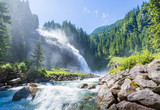The Krimml Waterfalls in the High Tauern National Park, Salzburg - 116790273