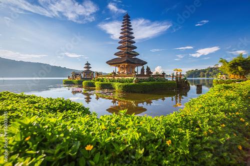 Spoed canvasdoek 2cm dik Bali Pura Ulun Danu Bratan, or Pura Beratan Temple, Bali island, Indo