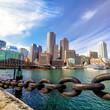 Quadro Boston Harbor  Massachusetts