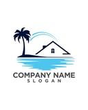 real estate vector logo design 129