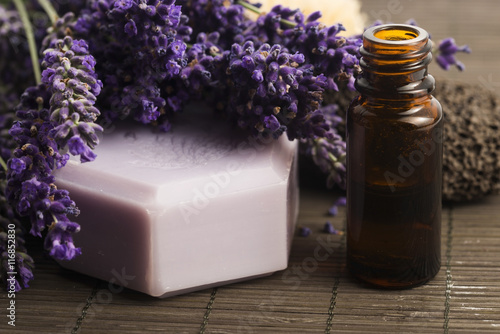 Plakat lavender spa