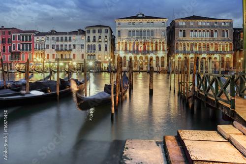 Fototapeta Hausfassade in Venedig