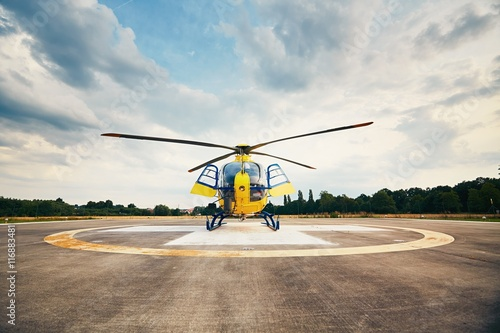obraz lub plakat Air rescue service