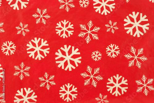 Retro Christmas Wallpaper. Vintage christmas wallpaper with snow flakes.