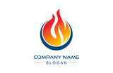 flame icon logo