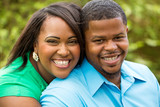 Happy African American Couple - 116916834