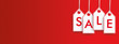 Hanging Price Stickers Sale Header