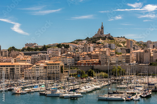 Keuken foto achterwand Schip Alter Hafen von Marseille
