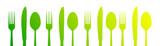 posate, icone, cucina, cucinare, gastronomia
