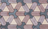 tiles with geometric figures