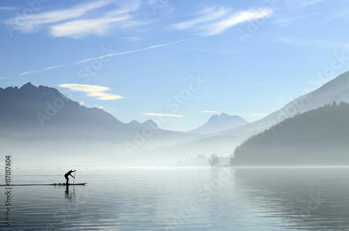Foto op Canvas Zen Annecy lake in France