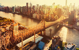 Fototapety Queensboro Bridge over the East River in New York City