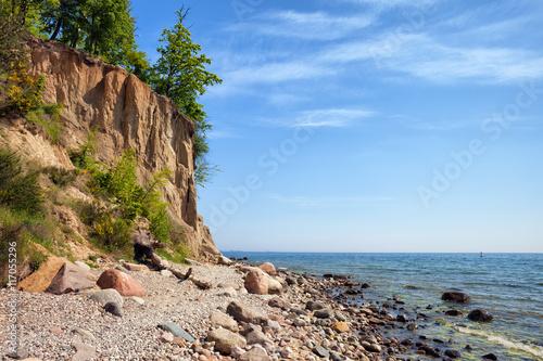 Zdjęcia na płótnie, fototapety na wymiar, obrazy na ścianę : Orlowo Cliff in Gdynia at Baltic Sea