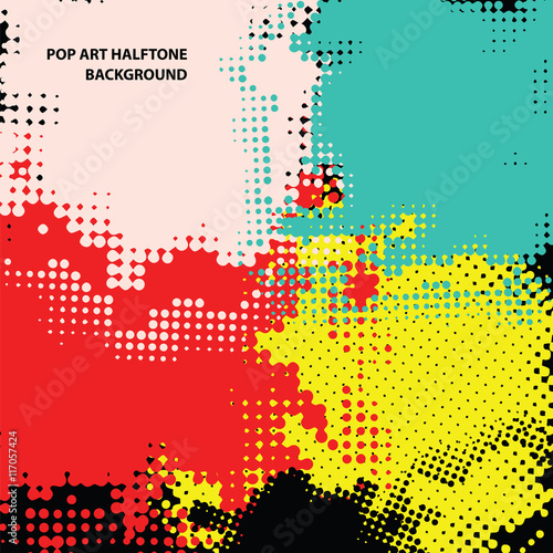 Aluminium Pop Art pop art halftone