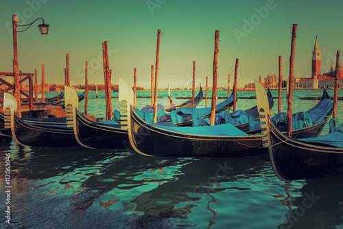 Gondoles à Venise - Italie