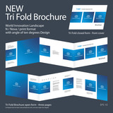 New Tri Fold Brochure 02 Innovation design layout 2017