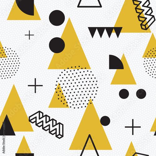 Tapeta seamless abstract geometric pattern