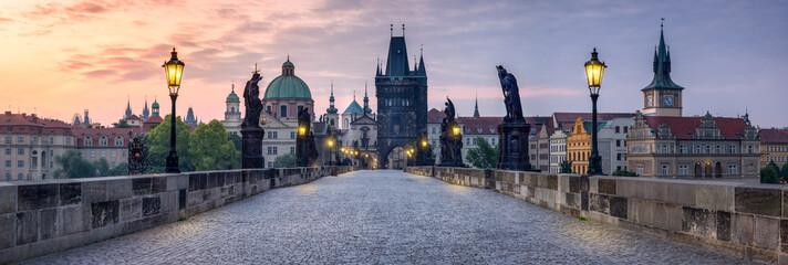 Karlsbrücke in Prag Tschechien