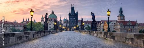 Papiers peints Prague Karlsbrücke in Prag Tschechien