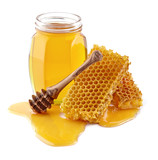 Fototapety Honey with honeycombs