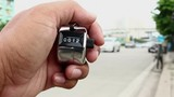 counting cars with counter clicker machine