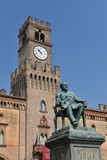 Giuseppe Verdi Square, Busseto, Parma, Italy