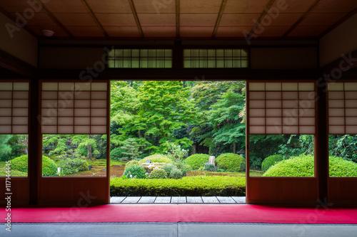 Foto op Canvas Bedehuis 京都 雲龍院の日本庭園