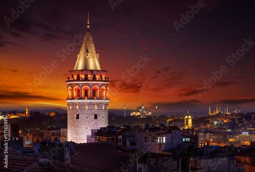 Papiers peints Bordeaux Galata tower