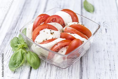 Naklejka Tomatoes with Mozzarella