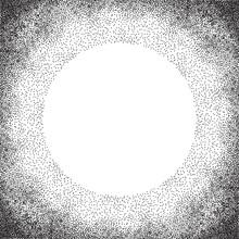 cercle tramée avec place pour votre conception, polka dot background. Vector illustration