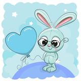 Cute Bunny with balloon