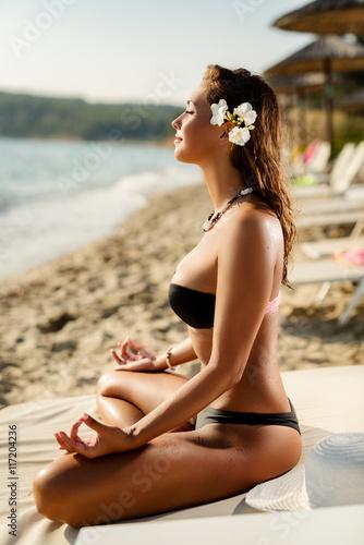 Fotografiet Meditation