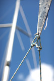 Details of a yacht equipment