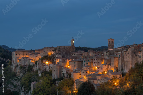 Sorano - old European town, Italy