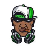 Urban HipHop character - 117233227